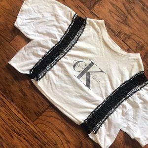 Customized Calvin Klein top